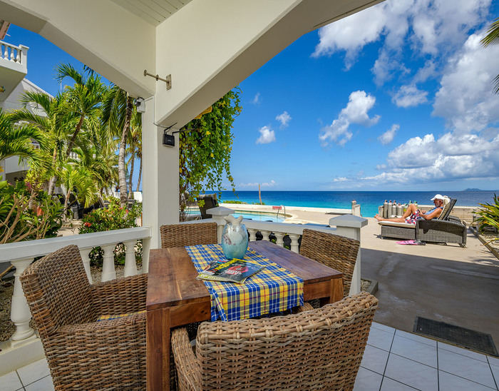 bonaire oceanfront apartment