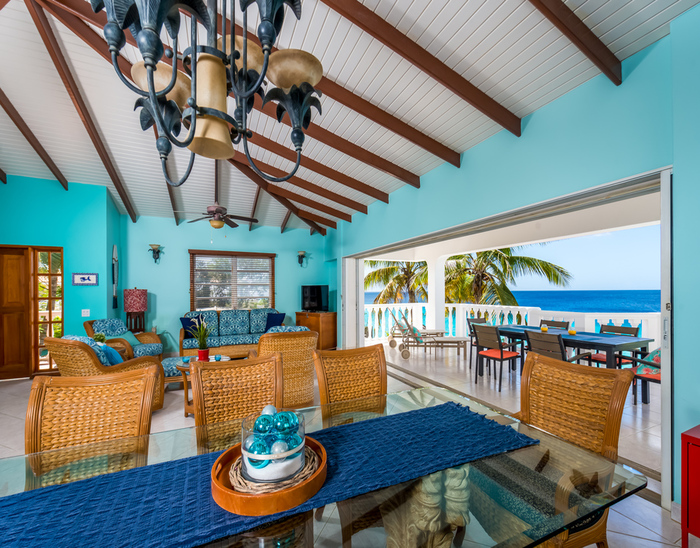 oceanfront apartment Bonaire