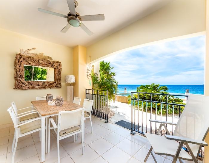 Bonaire oceanfront vacation rental