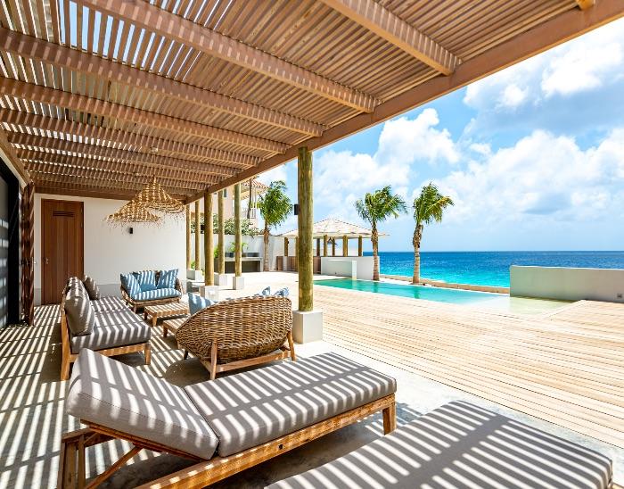 oceanfront de luxe villa drum na laman
